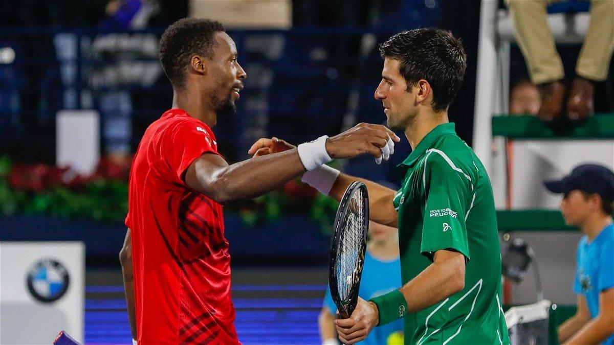 I Can T Beat You My Friend Gael Monfils Lauds Novak Djokovic Essentiallysports