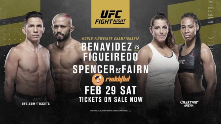 Joseph Benavidez vs Deiveson Figueiredo