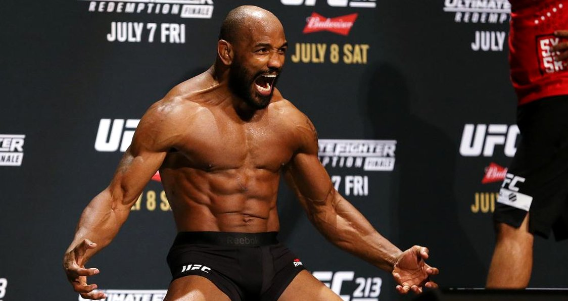 Yoel Romero is just a an athletic specimen, whoever his opponent is they have their work cut out