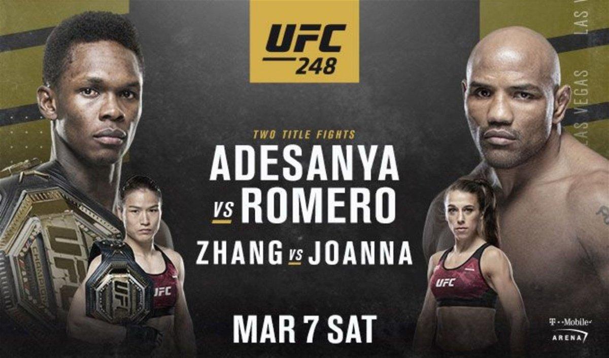 Watch UFC 248: Adesanya vs. Romero 3/7/20