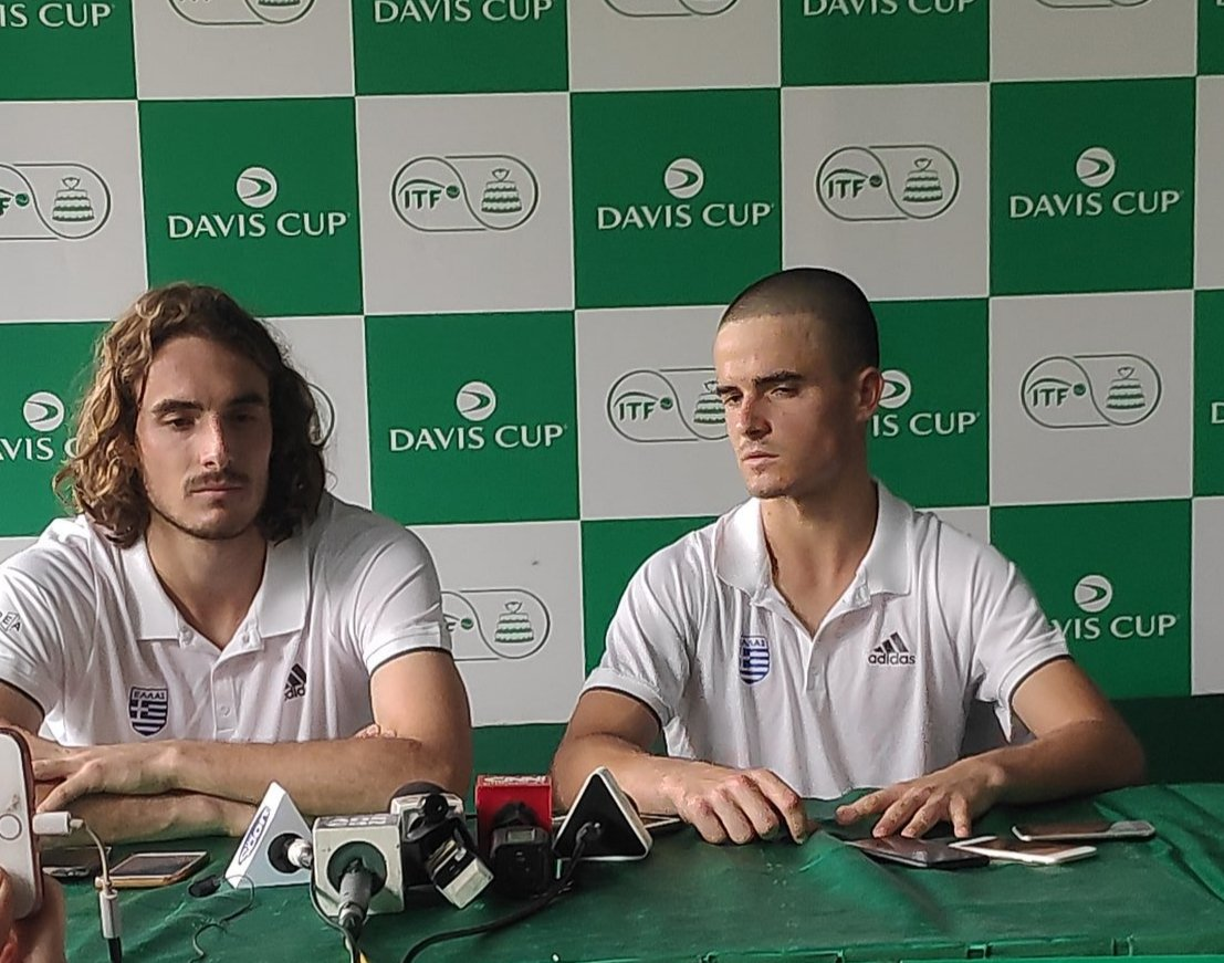 It S Just Wonderful To Have A Brother Stefanos Tsitsipas Essentiallysports