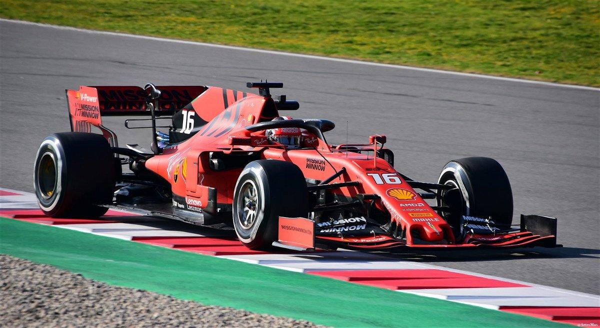 F1 Ferrari SF90 - the car under investigation