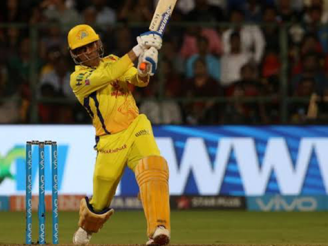 MS Dhoni prepares for IPL 2020
