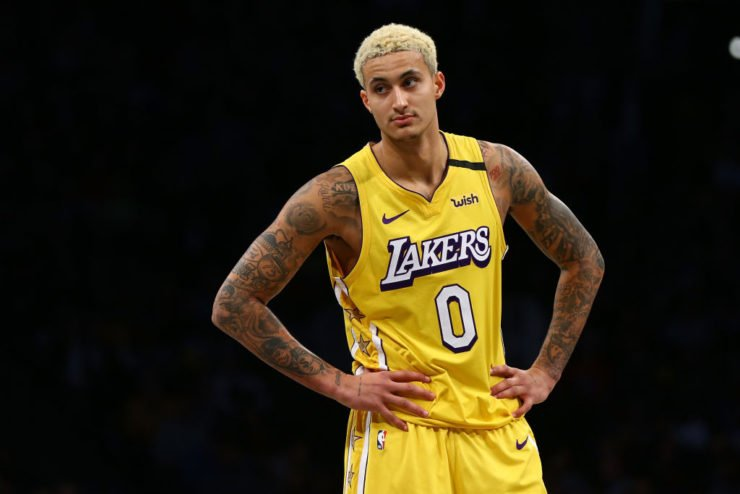 Kyle Kuzma of Los Angeles Lakers