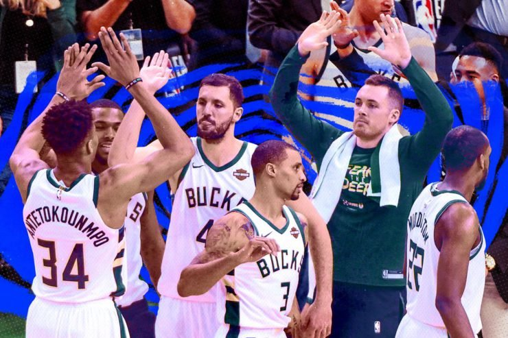 Milwaukee Bucks players