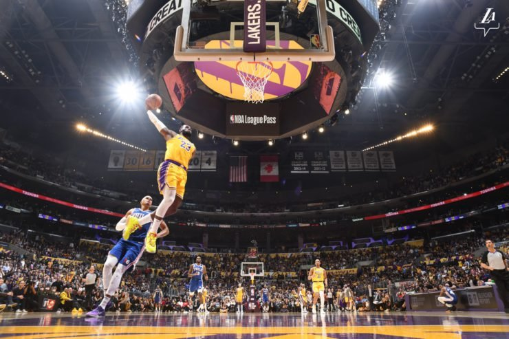 LA Lakers NBA Suspension halt benefiting