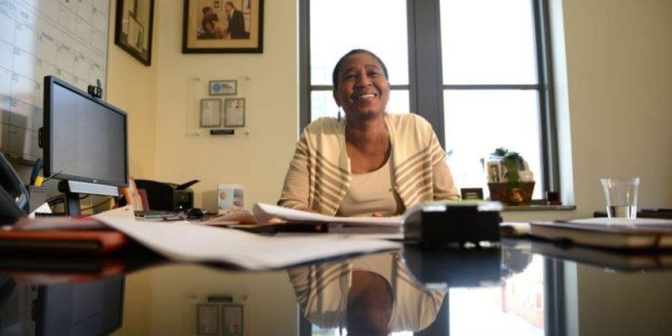 NBA Players's association executive director Michele Roberts