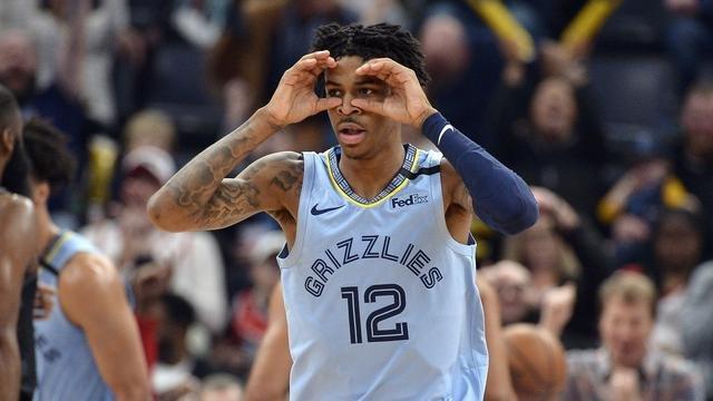 Ja Morant Memphis Grizzlies Tik-Tok videos Vine Kyrie Irving NBA