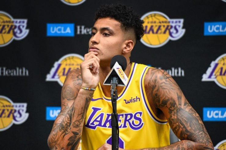 Kyle Kuzma of Los Angeles Lakers