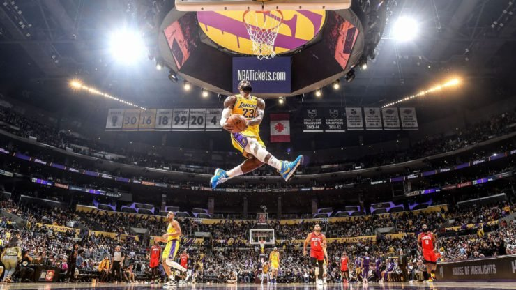 TOP 10 Games NBA 2019-2020 season Coronavirus LeBron James LA Lakers