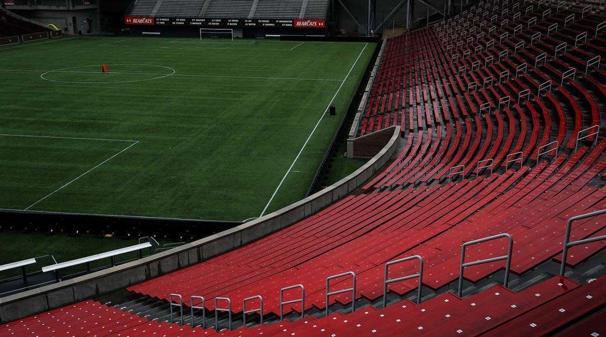 Effect of Coronavirus: Empty stadiums, Sports Illustrated