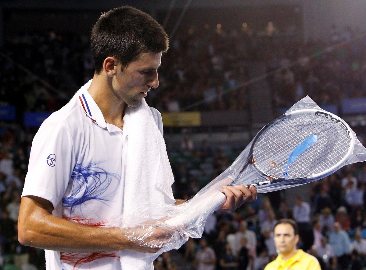 Novak Djokovic And The Andre Agassi Story Behind His Racquet Essentiallysports