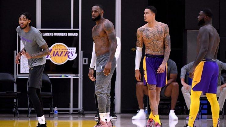 NBA Training facilities LA Lakers