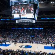 American Airlines Center during an NBA game