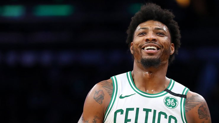 Boston Celtics Marcus Smart NBA