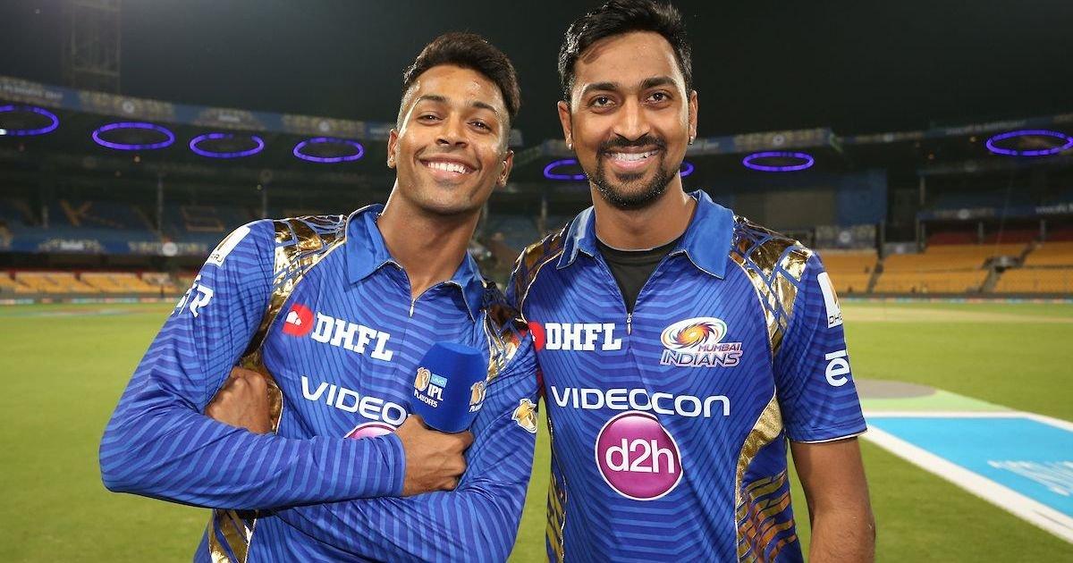 Hardika and Krunal Pandya