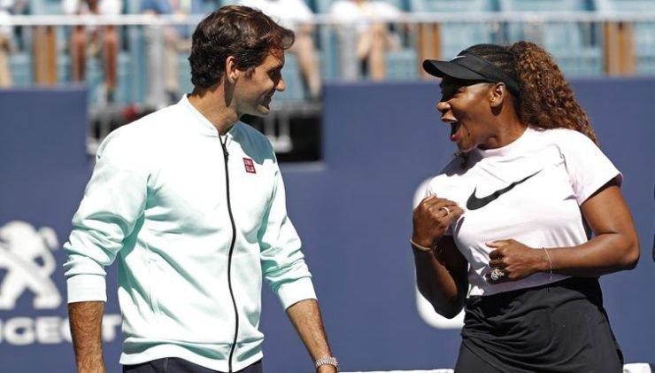 """Roger Federer, You Are a Superman"" - Serena Williams"