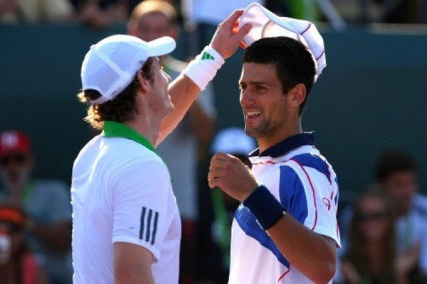 Watch Andy Murray Lets Down Novak Djokovic During Miami Open Doubles Essentiallysports