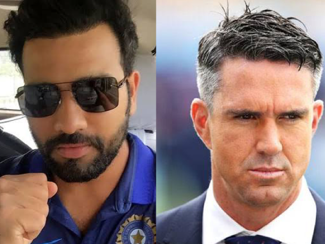 Rohit Sharma and Kevin Pietersen