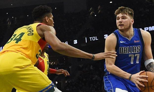 NBA Luka Doncic Giannis Antetokounmpo