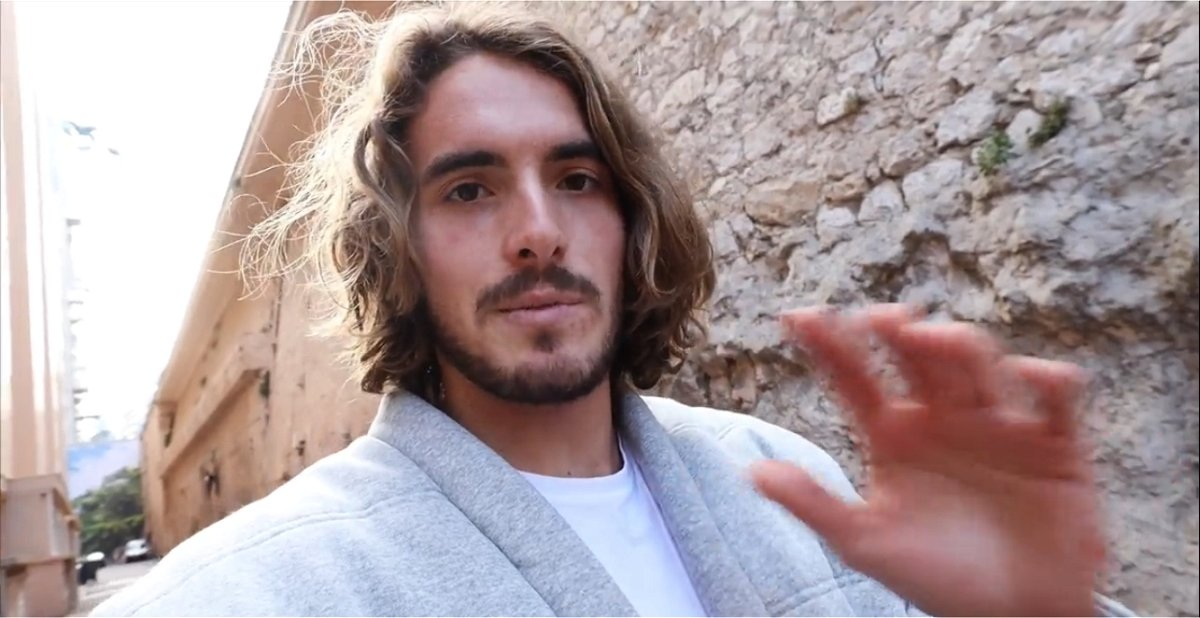 Stefanos Tsitsipas Turns Fitness Trainer For Helping Fans During Quarantine Period Essentiallysports