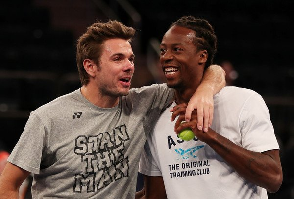 Stan Wawrinka and Gael Monfils