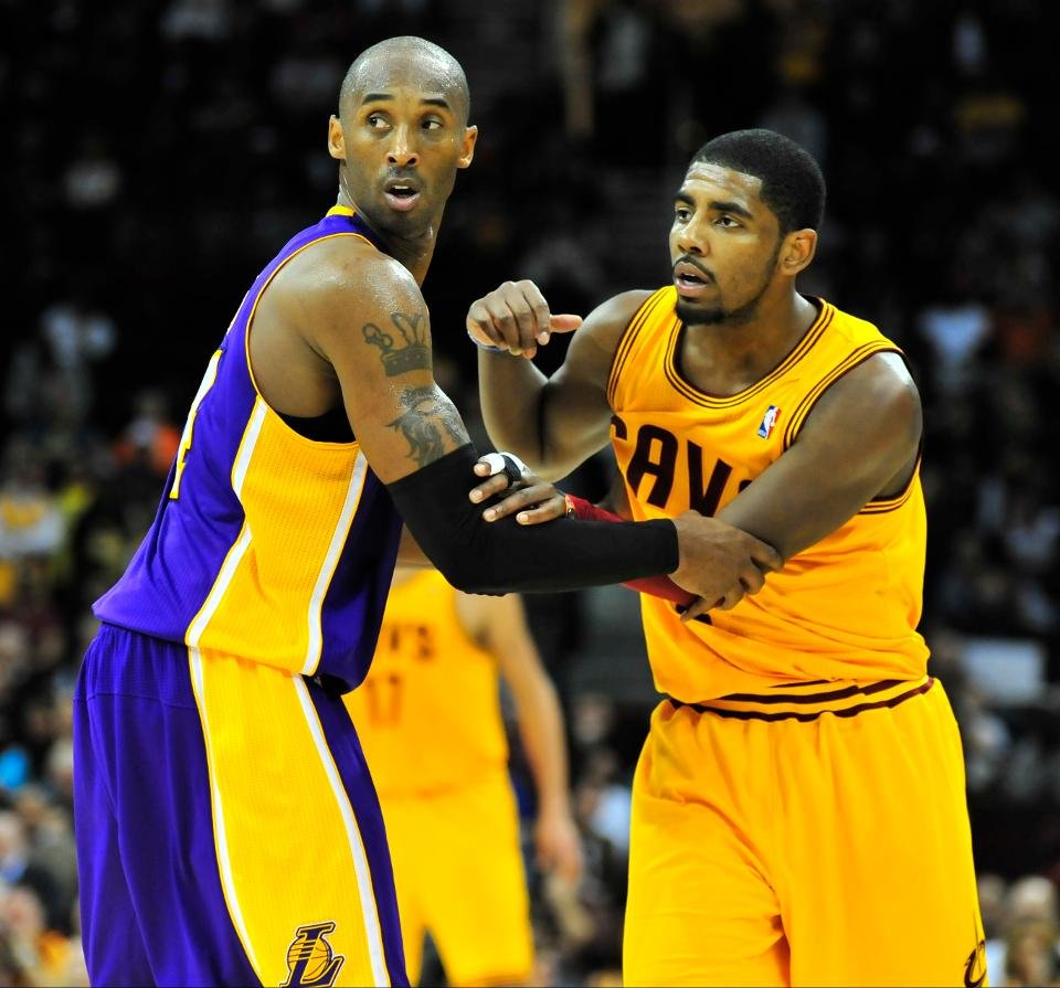 When Kobe Bryant Put a Young and Challenging Kyrie Irving to the Place Where He Belongs thumbnail