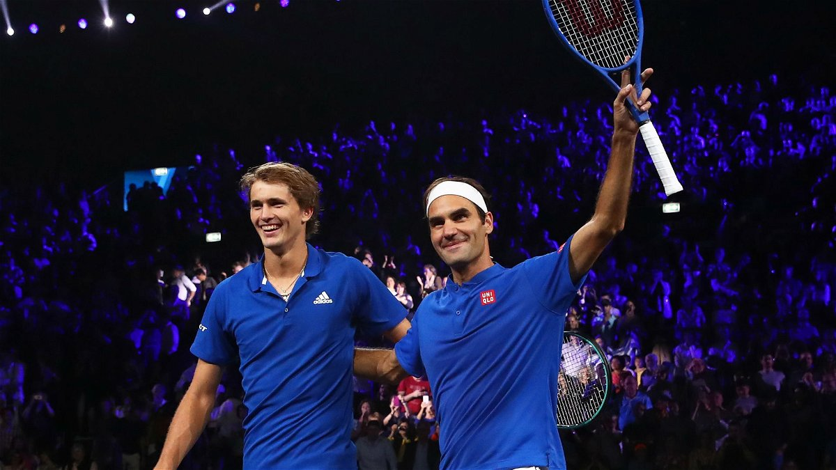 Alexander Zverev Says It's Tough To Have Roger Federer As Idol thumbnail