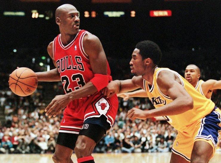 Michael Jordan Kobe Bryant NBA LA Lakers Chicago Bulls Wizards