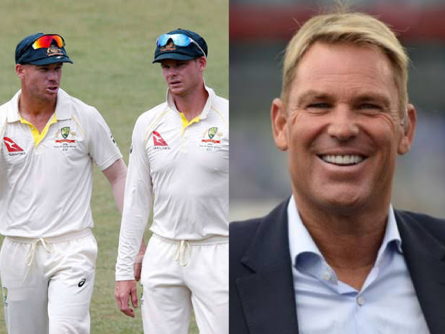 Shane Warne leaves out Smith and Warner