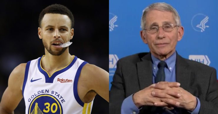 Stephen Curry & Dr. Anthony Fauci