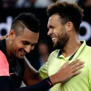 Jo-Wilfried Tsonga and Nick Kyrgios