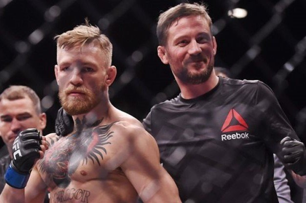 """""""It Would Be Insane"""": Coach Kavanagh Gives an Update on Conor McGregor Fighting at UFC 249 thumbnail"""