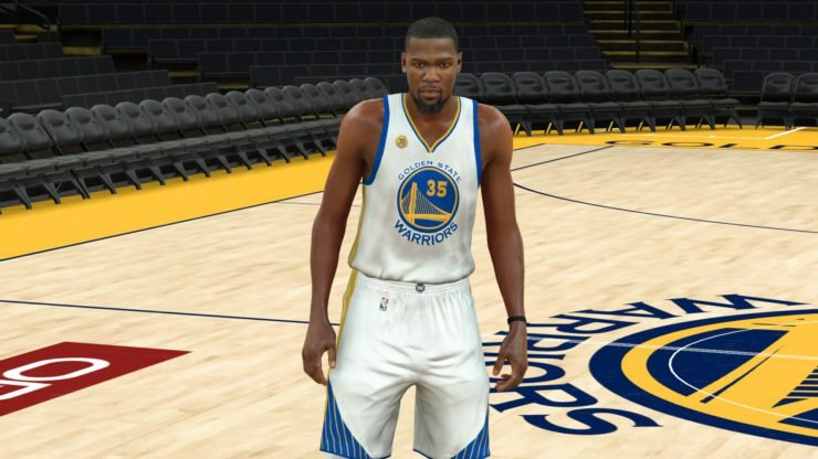 Kevin Durant in NBA 2K