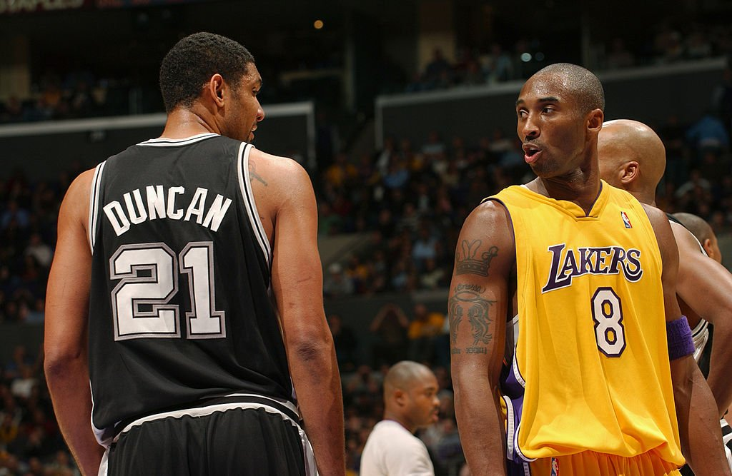 NBA Analyst Picks Tim Duncan Over Kobe Bryant For Having a Better ...