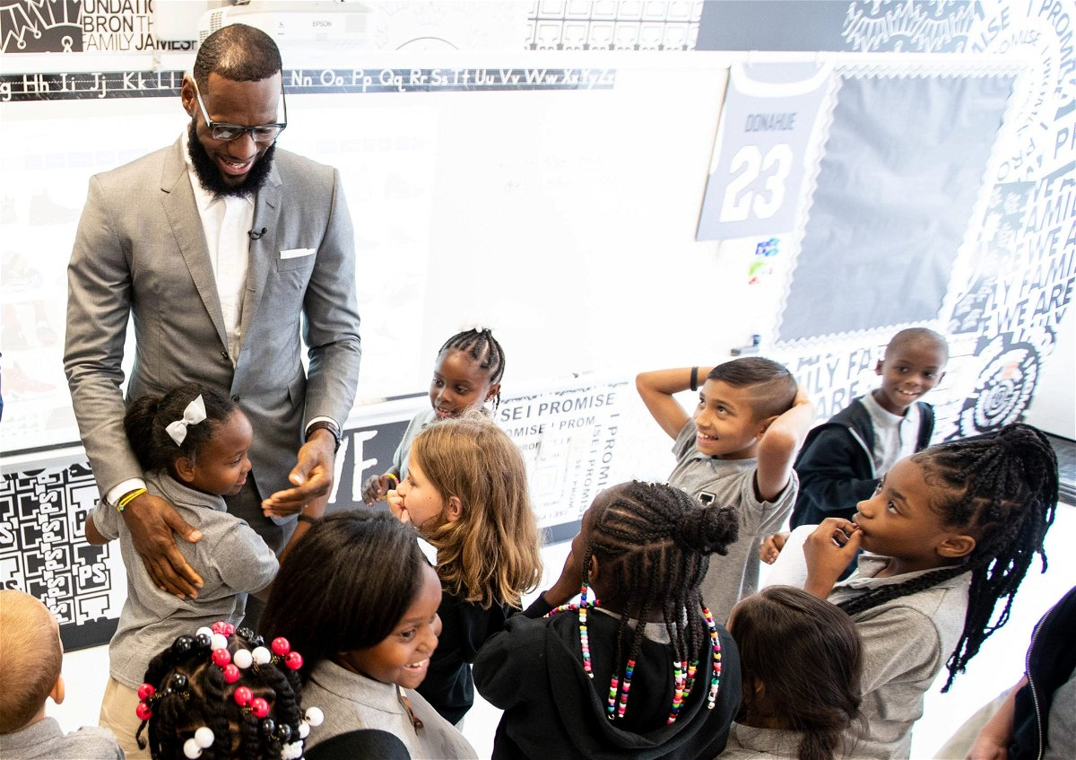 "I Was One of Those Kids"": LeBron James Talks About His 'I Promise School' for At-Risk Children - EssentiallySports"