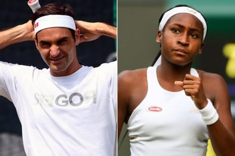 Coco Gauff Accepts Roger Federer's Tennis At Home Challenge