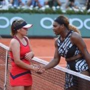 Serena Williams and Sofia Kenin