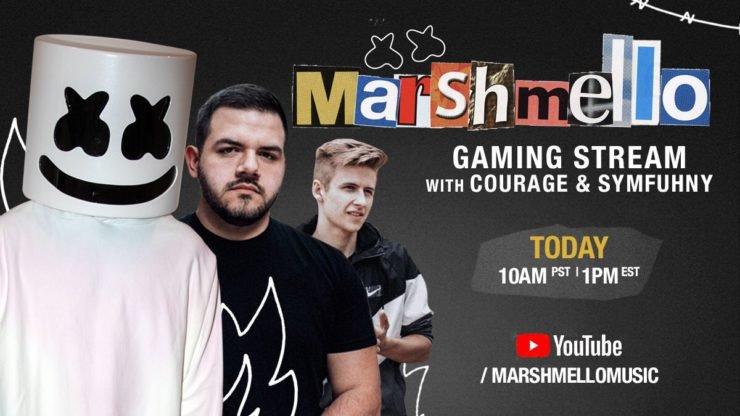 Marshmello to stream Call Of Duty