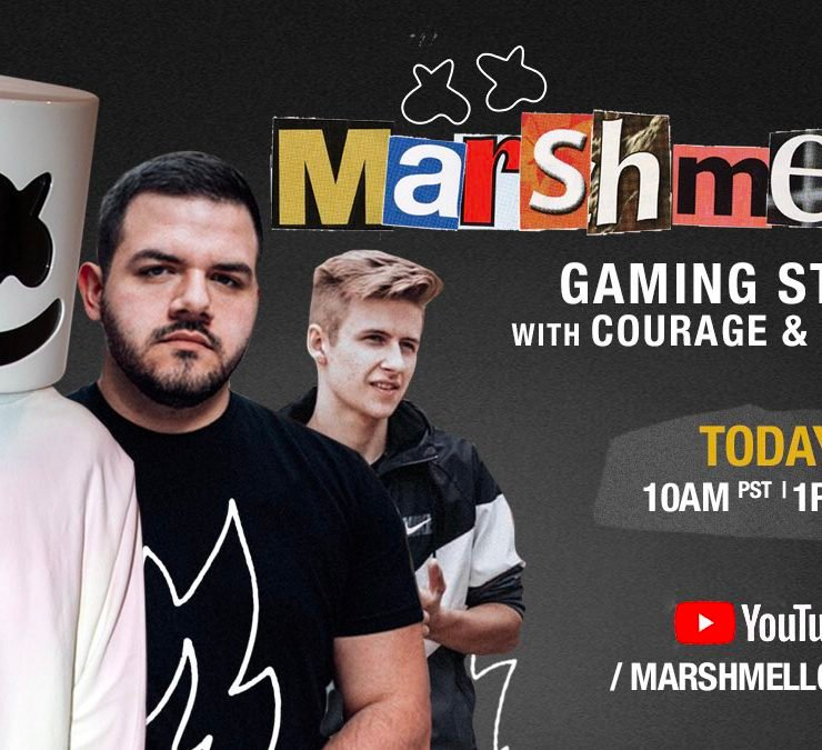 Marshmello to stream Call Of Duty