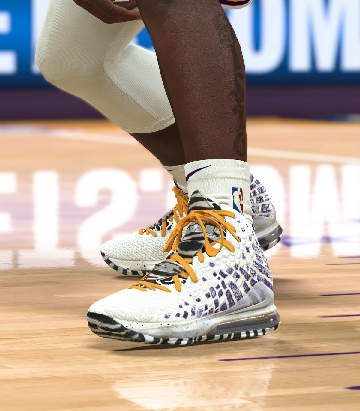 lebron game shoes