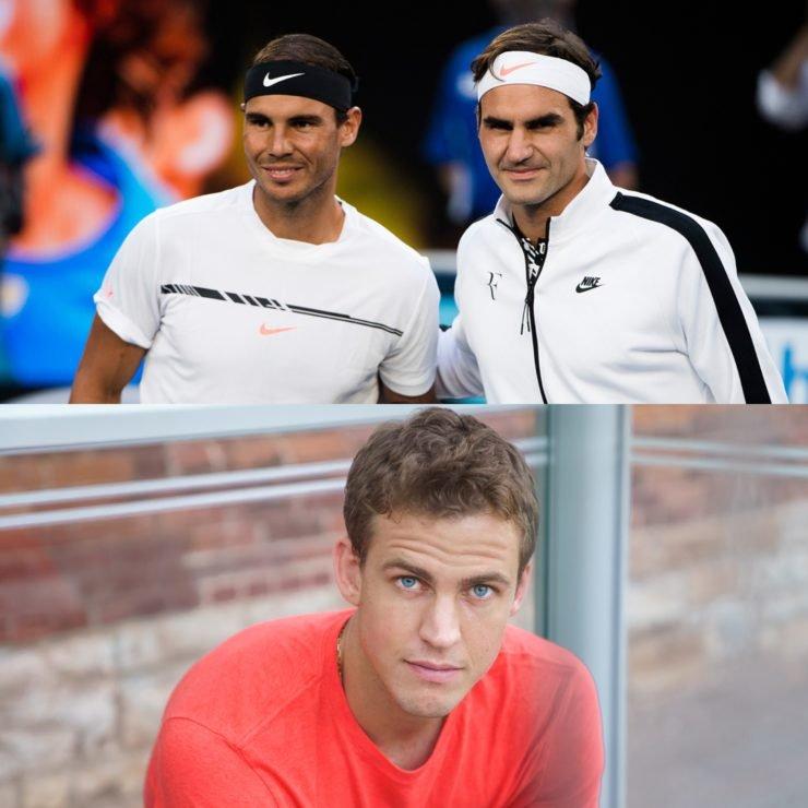 Roger Federer Rafael Nadal Vasek Pospisil