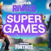 Fortnite SuperGames Twitch Rivals