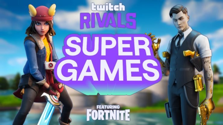 Fortnite SuperGames Twitch Rivals