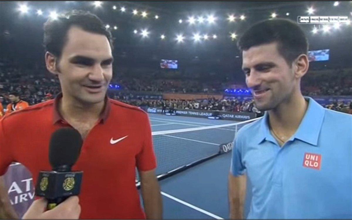 Watch When Roger Federer Corrected Novak Djokovic During An Interview Essentiallysports