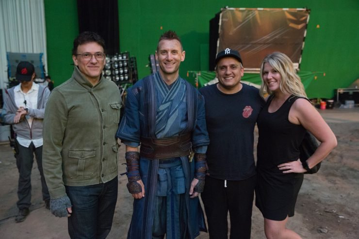 Fortnite Creative Director With Russo Brothers