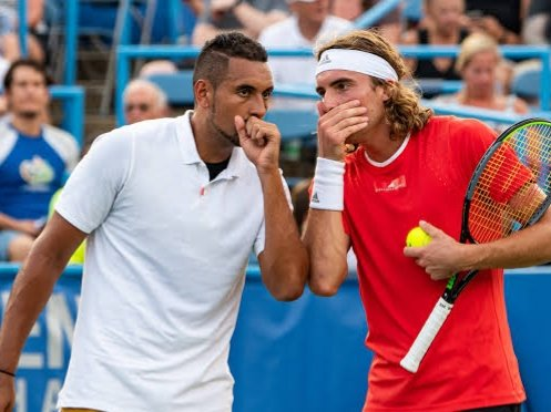 Nick Kyrgios Reveals the Texts and Calls Recieved After Stefanos ...