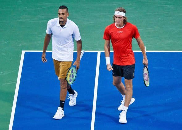 Nick Kyrgios Reveals The Texts And Calls Received After Stefanos Tsitsipas Shared His Number Essentiallysports