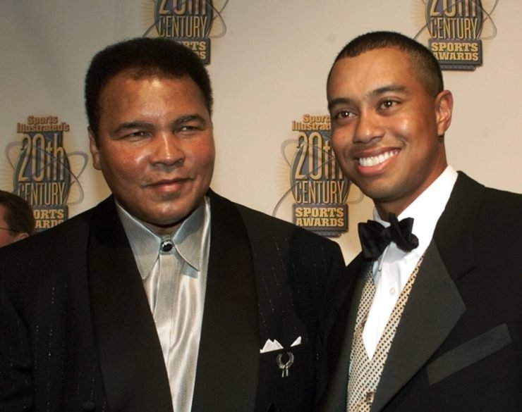 Muhammad Ali and Tiger Woods