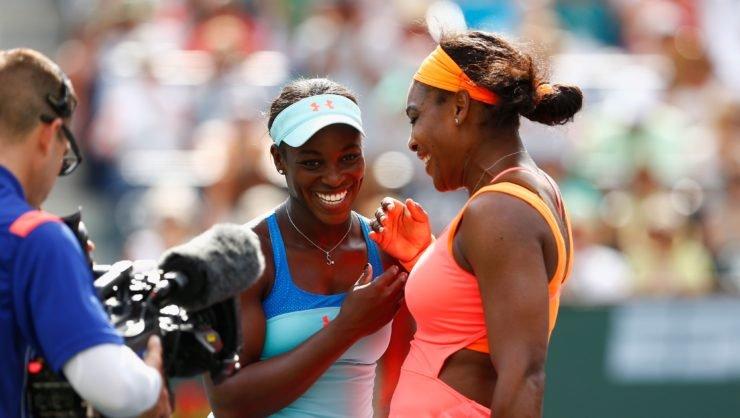 Serena Williams SLoane Stephens